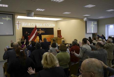 Утреннее воскресное служение